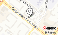 Почтовое отделение АНГАРСК 38 на карте