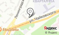Почтовое отделение АНГАРСК 35 на карте