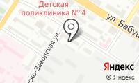 Почтовое отделение ЧИТА 39 на карте