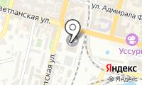 Почтовое отделение ВЛАДИВОСТОК 110 на карте