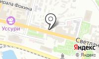 Почтовое отделение ВЛАДИВОСТОК 91 на карте