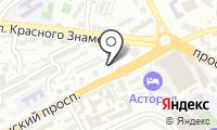 Почтовое отделение ВЛАДИВОСТОК 106 на карте