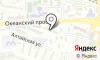 Почтовое отделение ВЛАДИВОСТОК 2 на карте