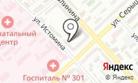 Почтовое отделение ХАБАРОВСК 28 на карте