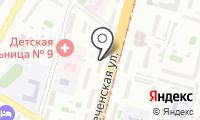 Почтовое отделение ХАБАРОВСК 3 на карте
