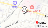Почтовое отделение ХАБАРОВСК 15 на карте