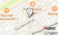 Почтовое отделение САНКТ-ПЕТЕРБУРГ на карте