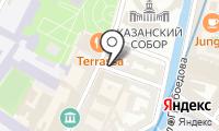 Почтовое отделение САНКТ-ПЕТЕРБУРГ 186 на карте