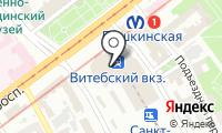 Почтовое отделение САНКТ-ПЕТЕРБУРГ 181 на карте