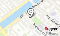Почтовое отделение САНКТ-ПЕТЕРБУРГ 180 на карте