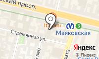 Почтовое отделение САНКТ-ПЕТЕРБУРГ 25 на карте