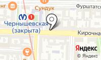 Почтовое отделение САНКТ-ПЕТЕРБУРГ 123 на карте