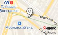 Почтовое отделение САНКТ-ПЕТЕРБУРГ 36 на карте