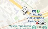Почтовое отделение САНКТ-ПЕТЕРБУРГ 33 на карте