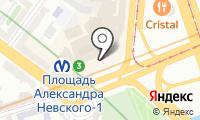 Почтовое отделение САНКТ-ПЕТЕРБУРГ 317 на карте