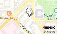 Магазин овощей и фруктов на Ярославской на карте