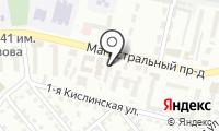 Почтовое отделение КУРСК 25 на карте