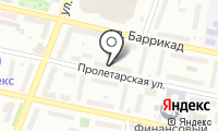 Почтовое отделение КАЛУГА 16 на карте
