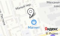 Почтовое отделение КАЛУГА 3 на карте