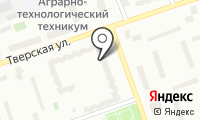 Почтовое отделение ДУБНА 3 на карте