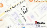 Почтовое отделение ДУБНА 1 на карте