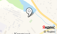 Почтовое отделение КАМЕНКА на карте