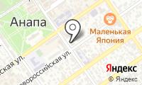 Почтовое отделение АНАПА на карте