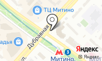 Станция Митино на карте