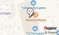 Кореана на карте