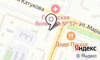 Строгино-титан на карте