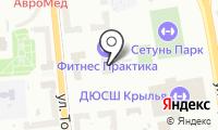 Сетунь на карте