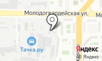 Отто Бокк на карте