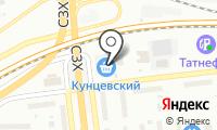 Сабрус на карте