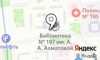 Детская библиотека №17 на карте