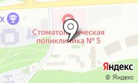 Автостоянка на Крылатских Холмах на карте