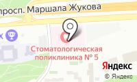 Стоматологическая поликлиника №5 на карте
