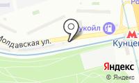 Шиномонтажная мастерская на Молдавской на карте
