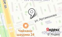 Интердент на карте