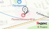 Поликлиника №6 на карте