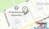 Детский сад №844 на карте
