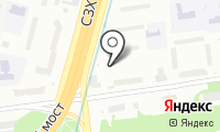 Карамышевская набережная на карте