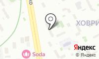 Клэр на карте