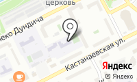 Средняя общеобразовательная школа №590 на карте