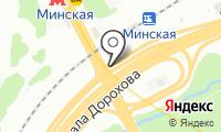Шиномонтажная мастерская на Минской на карте