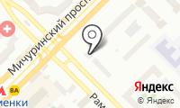 Мед-Ютас на карте