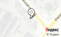Шиномонтажная мастерская на Ижорской на карте