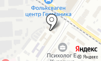 Профтон на карте
