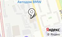 Гаражно-строительный кооператив №4 на карте