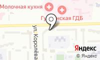 Почтовое отделение ГУБКИН 3 на карте