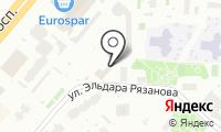 Управа Обручевского района на карте